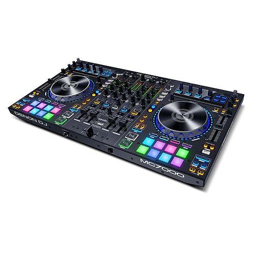 DENON MC7000 PROFESSIONAL 4 CHANNEL DJ CONTROLLER WITH SERATO DJ PRO SOFTWARE