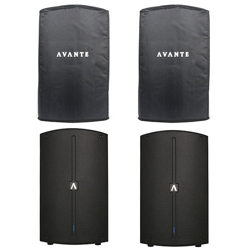 Avante A10 pair with covers