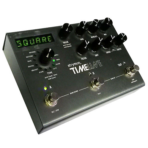 STRYMON TIMELINE DIGITAL EFFECTS GUITAR DELAY PEDAL WITH POWER SUPPLY + WARRANTY