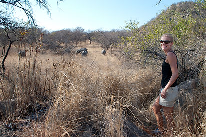 rhino tracking in Matopos, ZImbabwe (1).
