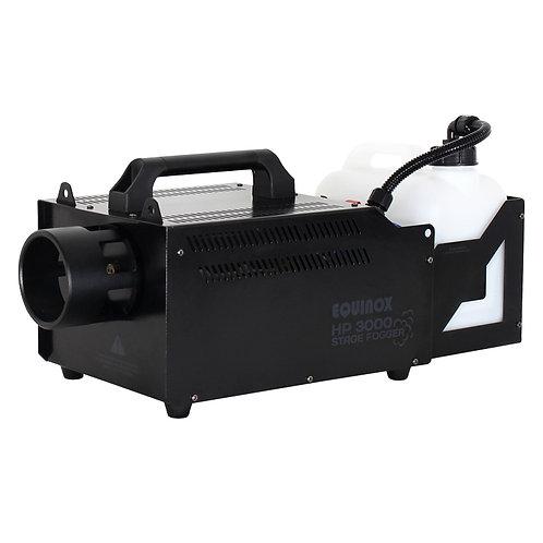 EQUINOX HP 3000 HIGH OUTPUT 2800W SMOKE FOG MACHINE + VERTICAL FOGGER DJ STAGE