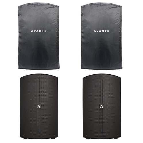 Avante A12 pair with covers
