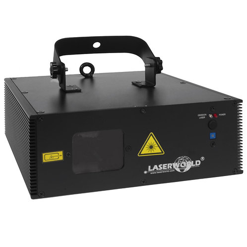 LASERWORLD EL-400RGB 400mW RED GREEN BLUE RGB LASER LIGHT DMX + 50 PATTERNS