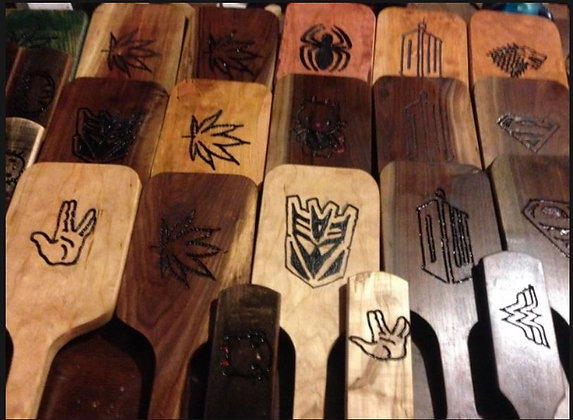 Carved Paddles