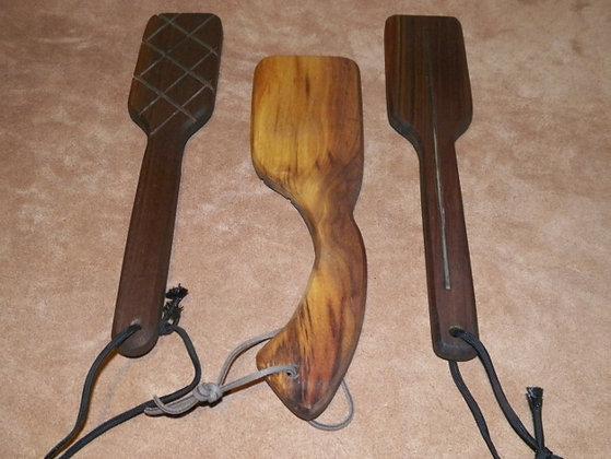 Hairbrush Walnut Paddle