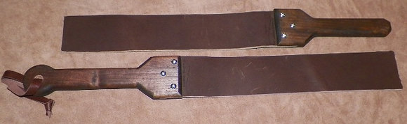 "24"" Leather Straps"