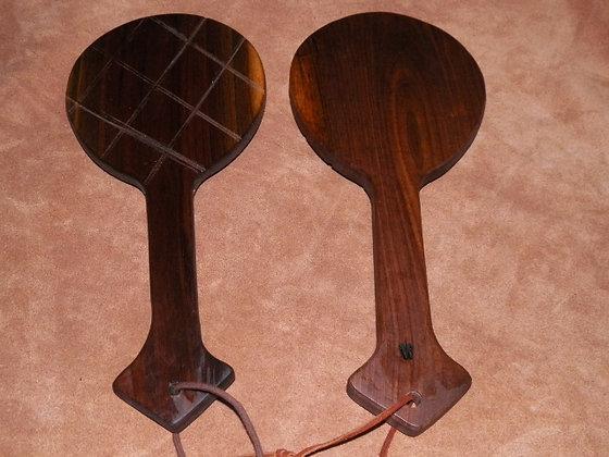 Round Walnut Paddle