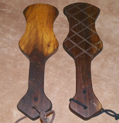 Hourglass Walnut Paddle