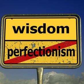 Competente sim, mas não perfeccionista