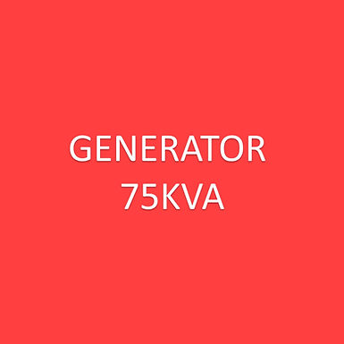 Electric - Generator 75kv**