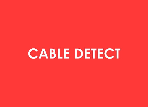 Electric - Cable Detect Fee