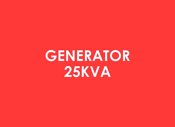 Electric - Generator 25kva**