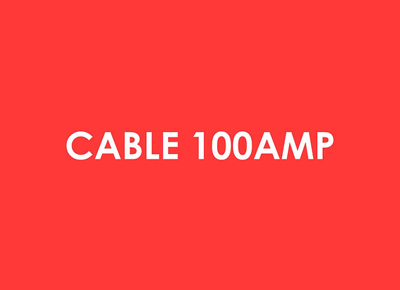 Electric - Cable 100 Amp Per Meter