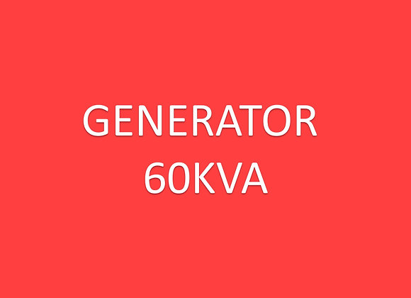 Electric - Generator 60kva**