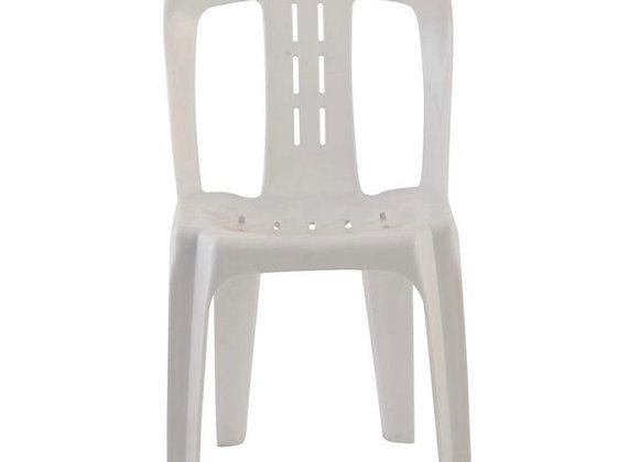 Chairs - Garden - Pvc; White, 10pcs per set