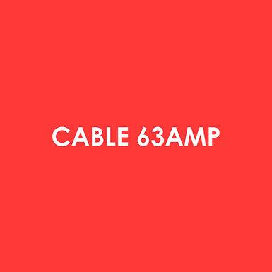 Electric - Cable 63 Amp Per Meter