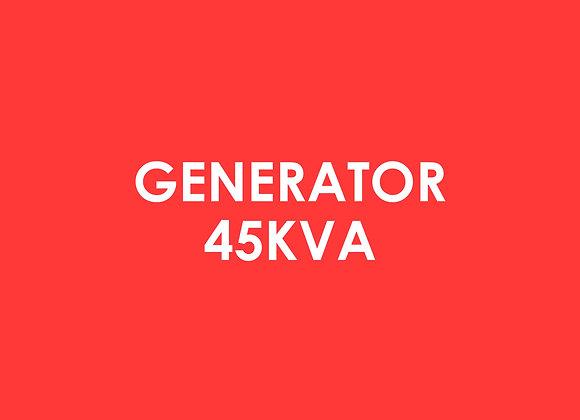 Electric - Generator 45kva**