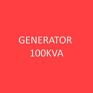 Electric - Generator 100kva**
