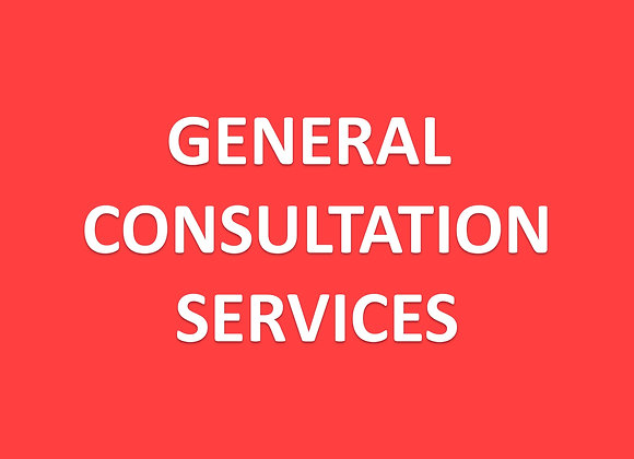 Svcs - General Consultation on Regulations Requirements - Complimentary
