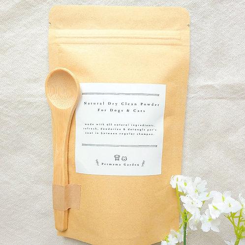 100%天然乾洗毛粉 Natural Dry Clean Powder for Pets