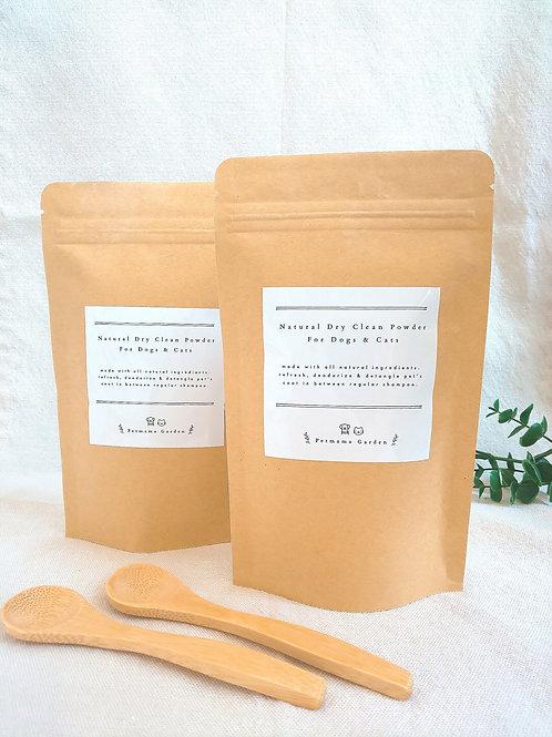 100% 天然乾洗粉套裝 Natural Dry Clean Powder for Pets Bargain Set