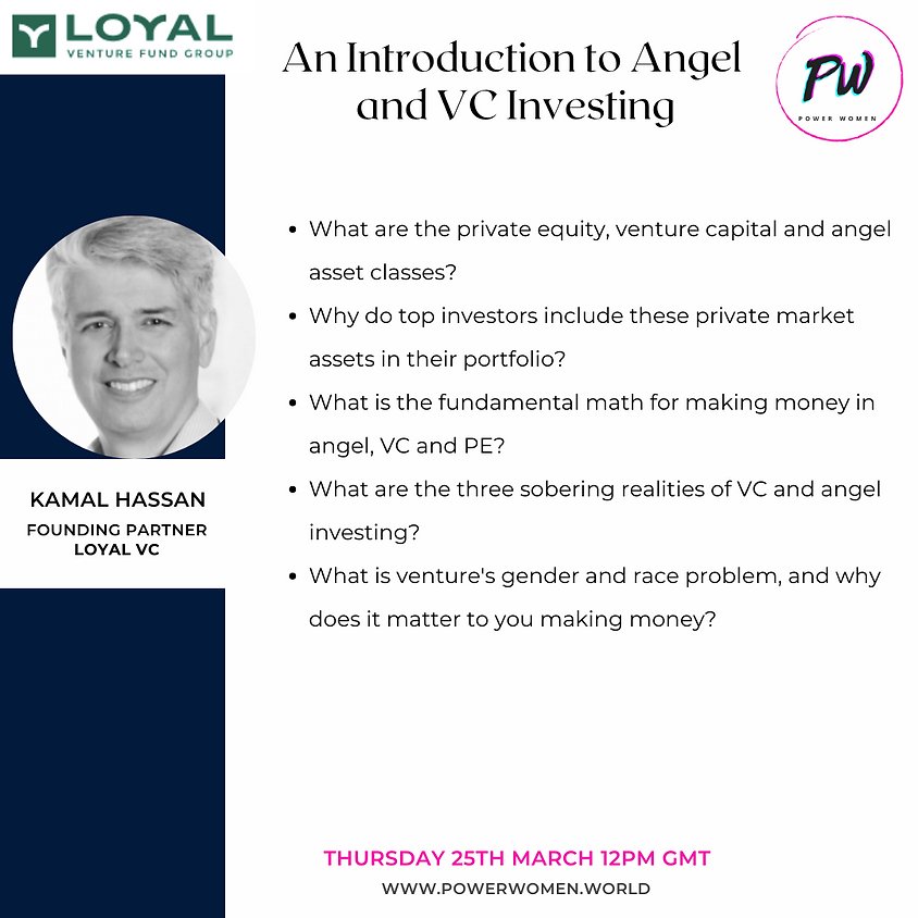 An Introduction to Angel  and VC Investing