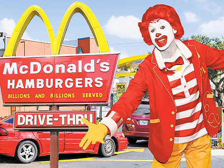 Competitor Analysis through the eyes of McDonald's