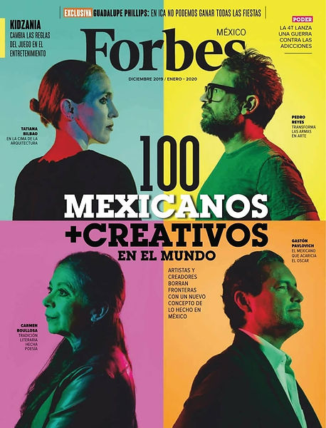 Forbes Magazine Cover January 2020