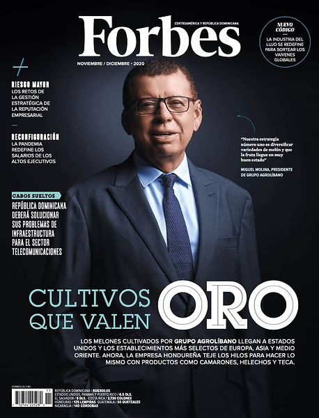 Forbes Magazine Cover December 2020