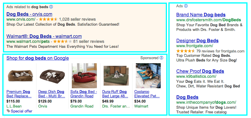 search engine marketing example
