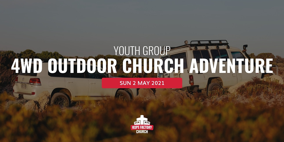 Youth Group 4WD Outdoor Church Adventure