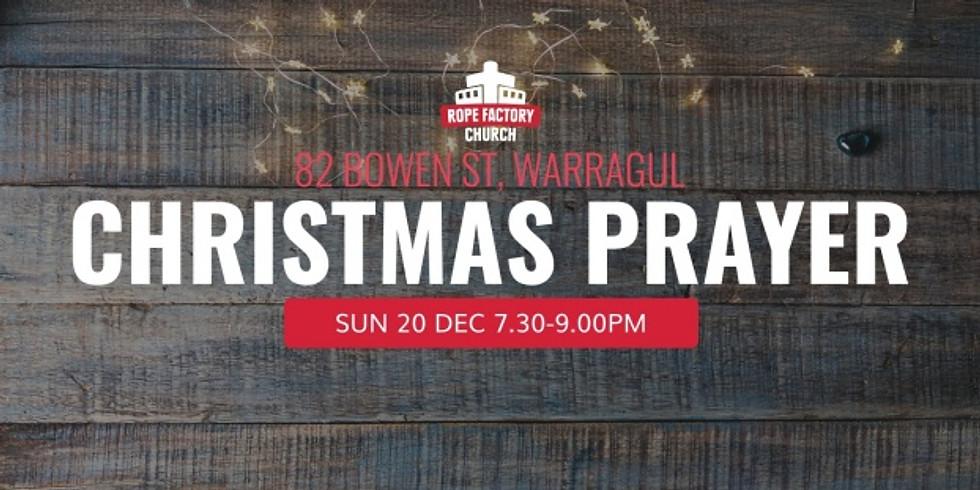 Christmas Prayer Gathering