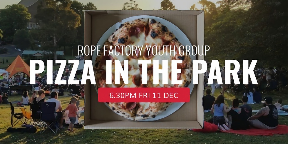 Pizza in the Park (Youth Group)