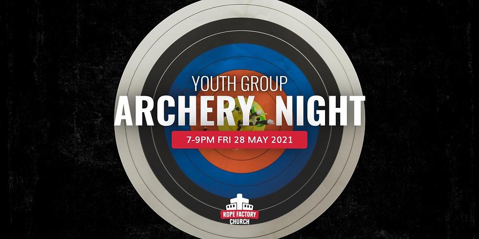 Youth Group Archery Night