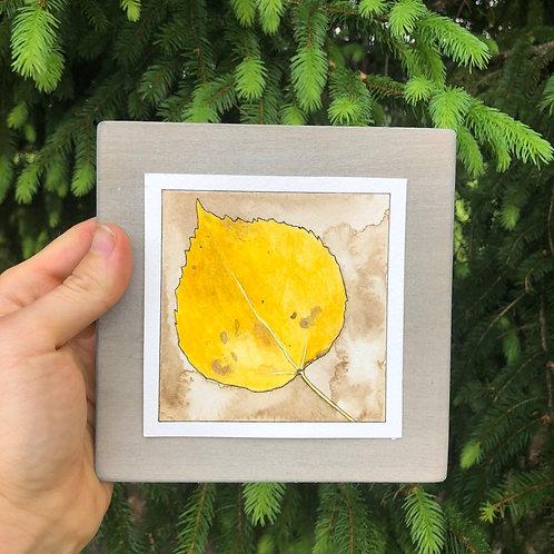 Aspen Leaf (original)