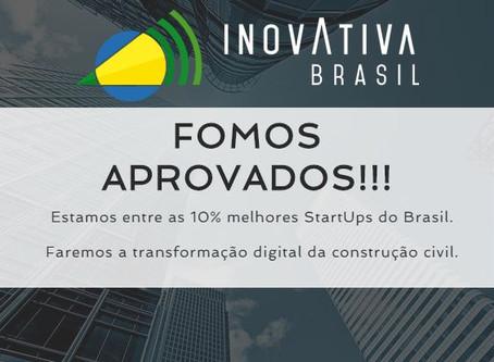 FOMOS APROVADOS NO INOVATIVA BRASIL 2017