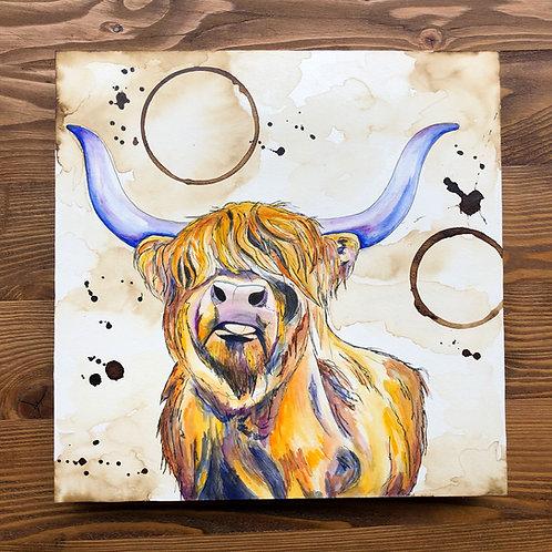 Highland Cow (Original)
