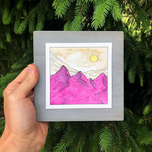 Mountain #4 (original)