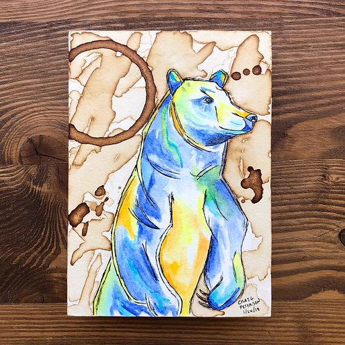 Blue Bear (Original)