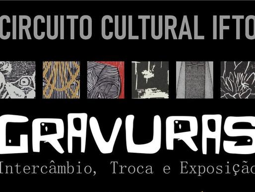 Centro de Artes do Campus Palmas do IFTO realiza exposição de gravuras