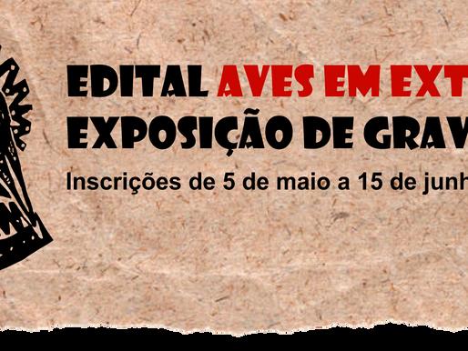 Inscrições abertas para o edital Aves em Extinção