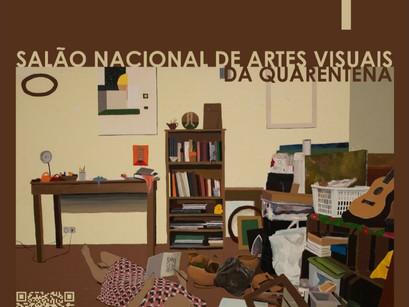 Vone Petson é selecionado para participar do 1º Salão Nacional de Artes Visuais da Quarentena