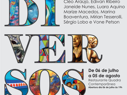 """Catálogo da Exposição Coletiva """"Diversos"""""""