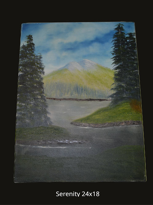 Serenity Oil Painting