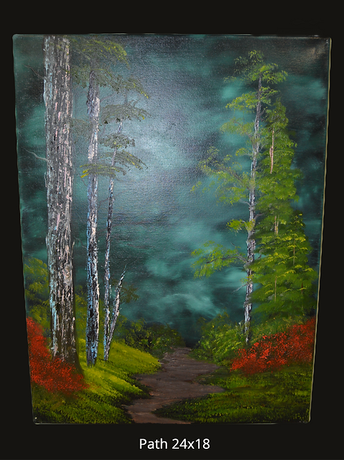 Path Oil Painting