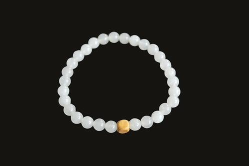Snow Quartz Bracelet