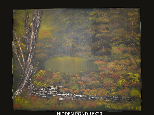 Hidden Path Oil Painting