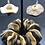 Thumbnail: Wavy Wood Bracelet and Earrings Set