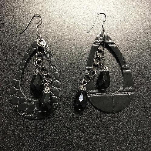 Chandelier Jewel Drop Earrings