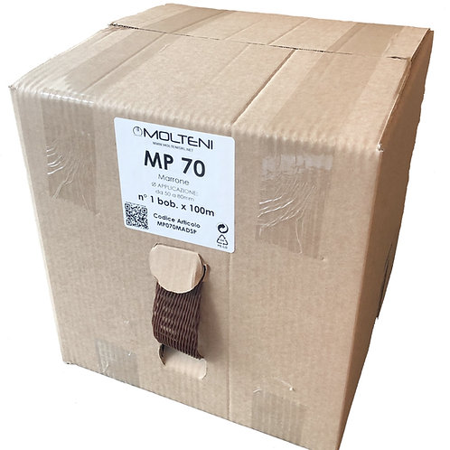 Dispenser MP 70 Marrone - diam. 50-80mm | n°1bob x 100m